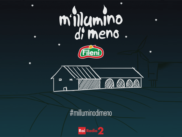 Dalla parte dell'ambiente: Fileni e M'illumino di meno 2019
