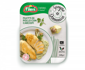 Filetti di pollo ai carciofi